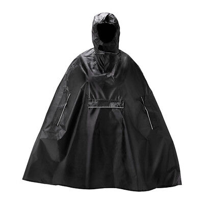 New IKEA Rain Poncho Reusable Foldable Adult Waterproof Hooded Outdoor Festival