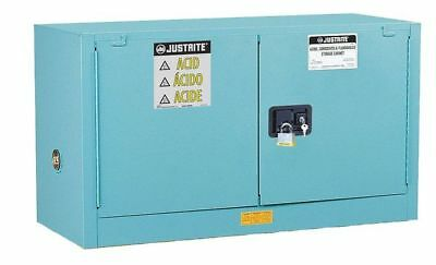 JUSTRITE 891702 Corrosive Safety Cabinet, 24 In. H