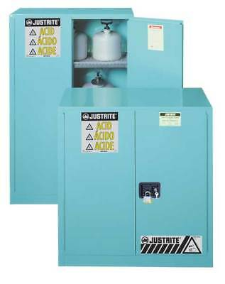 JUSTRITE 893022 Corrosive Safety Cabinet, SelfClose, 30gal