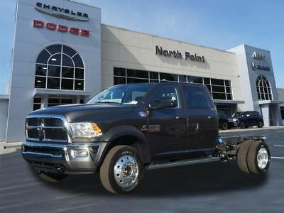 """2017 Ram Other SLT 4x4 Crew Cab 60"""" CA 173.4"""" WB Granite Crystal Metallic Clear Coat Exterior Paint Ram 4500 Chassis with 14 Mile"""
