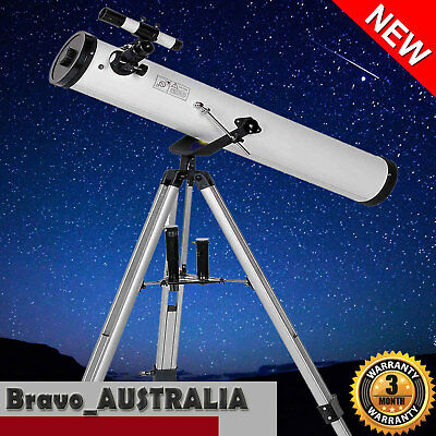Astronomical Telescope with Metal Tripod 675x Zoom Lens Astronomy