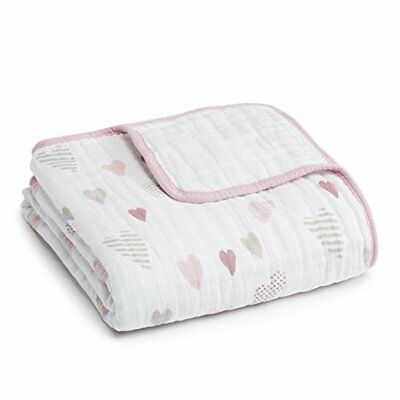 aden + anais Heartbreaker Kids' Classic Dream Blanket