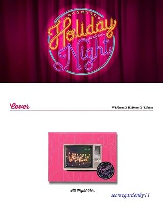 GIRLS' GENERATION [HOLIDAY NIGHT] ALL NIGHT ver. 6th Album CD+Poster+Gift Sealed