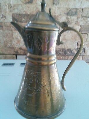 antique arabic coffee pot