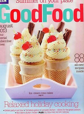 Good Food Magazine: August 2013: Relaxed Holiday Cooking