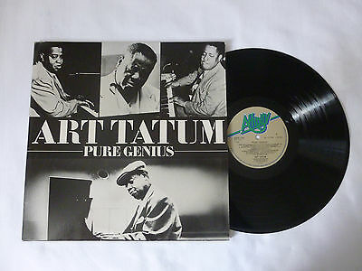ART TATUM ~ PURE GENIUS ~ AFFD118 ~ 1984 UK DOUBLE (2x) JAZZ VINYL LP ~ EX+/EX+