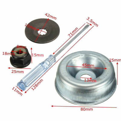 Blade Adapter Washer Rider Plate Nut Maintenance For String Trimmer Parts Accs