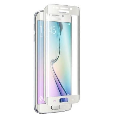 ICHIC Verre trempé Tough Curve Galaxy S6 Edge - Blanc