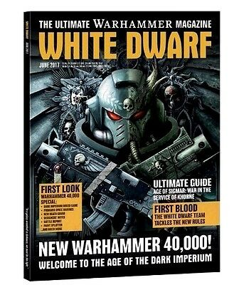 White Dwarf Magazine June 2017 Issue (new)
