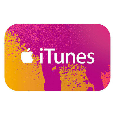 $100 iTunes gift card - fast free shipping - US only