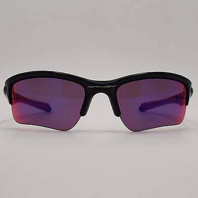 Oakley Quarter Jacket OO9200-18 Black Sport Wrap Frame w/ Prizm Purple Lenses