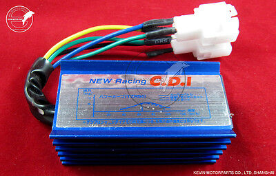 6pin AC Racing CDI Performance CDI Box Chinese Gy6 50-150cc Scooter ATV moped