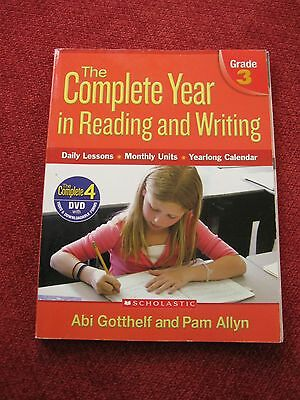 The Complete Year in Reading and Writing Scholastic Grade 3 Teacher's BOOK ONLY
