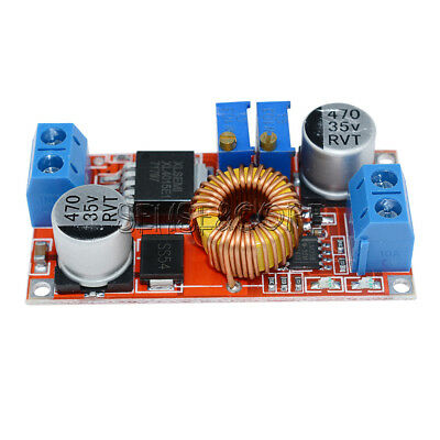 5Pcs Lithium Charger Step down 5A 5V-32V to 0.8V-30V Power Supply Module