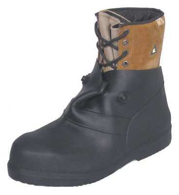 Overboots,S,Pull On,6in H,Blk,PR TREDS OVERBOOTS 13850