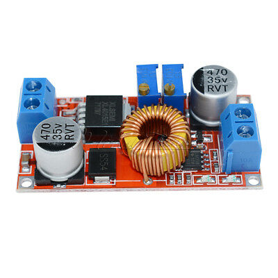 5PCS Lithium Charger Step down 5A 5V-32V to 0.8V-30V Power Supply Module 5A