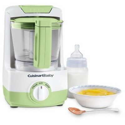 Cuisinart Baby Food Maker & Bottle Warmer BFM-1000GN - Green