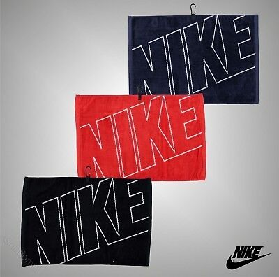 Unisex Genuine Nike Thick Cotton Velour Graphic Golf Towel Sports Accessories