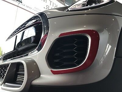 Mini Jcw Cornering Decals To Fit Aero Style F56 Bumpers
