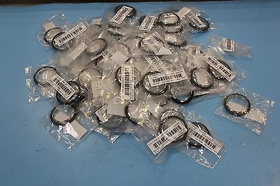65 New Mks Nw40 High Vacuum Centering Ring Seal Ss/viton Vacuum Fitting