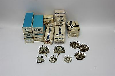 Lot Of Vinatge Centralab Parts- Rotary Switch, Wafer, Steatite, Potentiometer