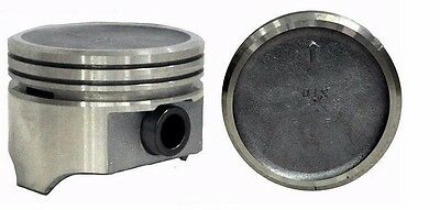 PISTONS /& RINGS 8 DISH TOP Marine Chevy GM 305 5.0L SBC OHV V8