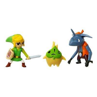 Legend of Zelda Micro Figure Set: Link, Makar, Bokoblin
