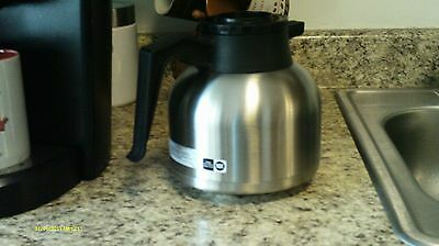 NEWCO VACULATOR THERMAL CARAFE COFFEE POT Stainless Steel  1.9 liter