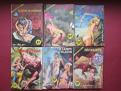 Elvifrance Lot  6 Super Terrifiant 2.25.33.34.37.40 Tbe