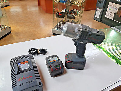 "Ingersoll Rand 1/2"" Cordless 20V  Impact Wrench  W7000 W/2 Batteries 86232-1 Eb"