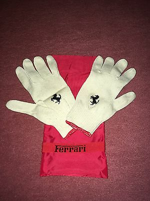 Genuine Ferrari Wheel Change Gloves 348 355 F355 360 F430 550 575 612 *NEW*