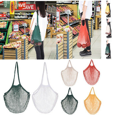 1 PC Fishing Net style Hollowed out Market String Bag Shoulder Carry Mesh bag