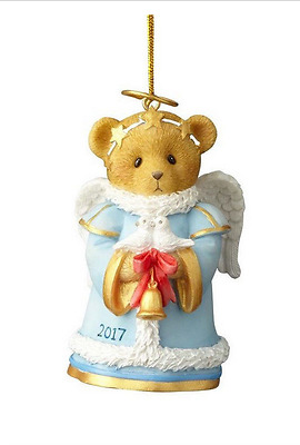 Cherished Teddies Christmas Annual Dated Bell Ornament New 2017 4059133
