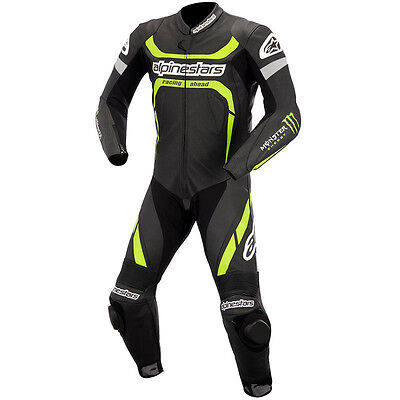 Alpinestars Mne's Motorcycle/Motorbike Leather Sports Racing Suit 1 and 2 piese