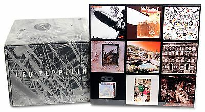 LED ZEPPELIN Complete Studio Recordings NEW (CD Box Set)  - Ships from the USA!