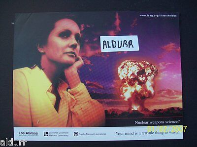Career As A Nuclear Weapons Designer ? - Anti Nuclear Flyer