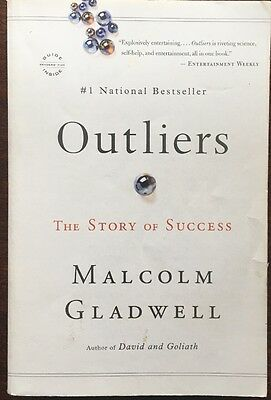 Outliers: The Story of Success by Malcolm Gladwell, 2011 Paperback, New