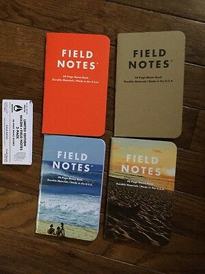 Field Notes Lot of Notebooks Nixon Expedition
