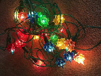 Vintage WOOLWORTH 20 push-in  Christmas  Tree Lights