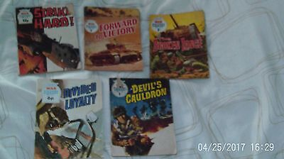 War Picture Library  Fleetway Library job lot 5 damaged