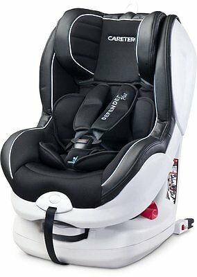 Caretero Defender Plus Black ISOFIX Auto Kindersitz Gruppe 0+/1, 0-18 Kg