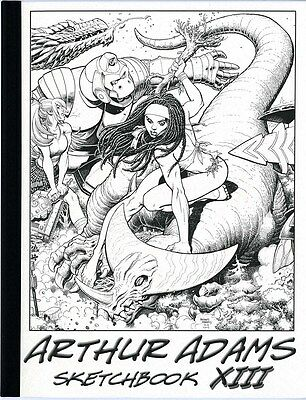 Arthur Adams Sketchbook 13 Rare! Sexy!