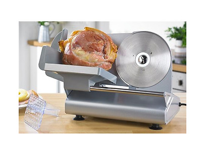 Egl Meat Food Electric Slicer Stainless Steel Blade Cheese Bread Cutter 150W