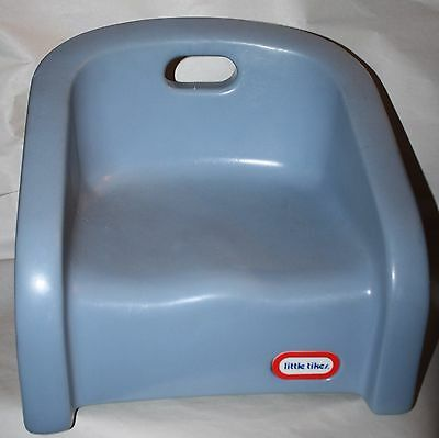 Little Tikes Vintage Booster Seat Blue Child Chair