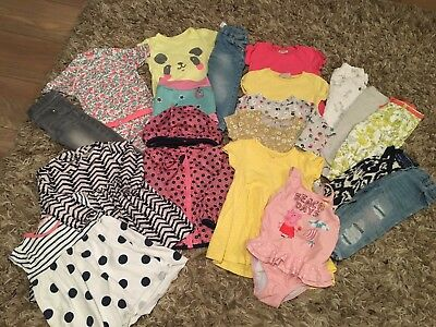 Gorgeous Baby Girls Next And More Clothes Bundle 12-18 Months
