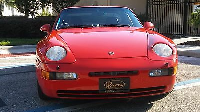 1992 Porsche 968 SPORT 1992 PORSCHE 968 SPORT SEAT FACTORY OPTION 37,940 Original Miles