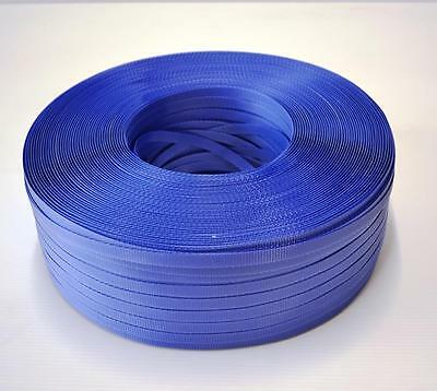 Brand New PP Strapping in Dispenser Box Blue 12mm x 1000m