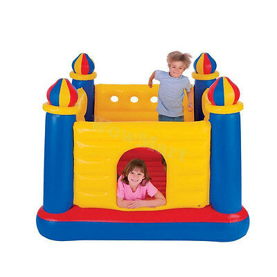 NEW INTEX Jump-O-Lene Inflatable Jumping Castle Trampoline Bouncer (#48259)