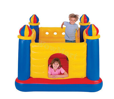 INTEX Inflatable Playhouse Jumping Castle Trampoline Jump-O-Lene (#48259)