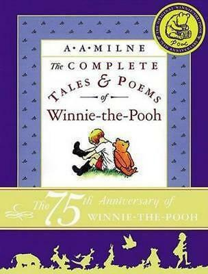 NEW The Complete Tales and Poems of Winnie-The-Pooh/Wtp By A A Milne Hardcover